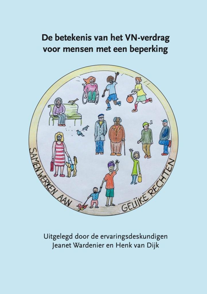 Afbeelding van het boekje De betekenis van het VN-verdrag voor mensen met een beperking