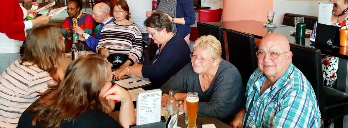 Bijeenkomst van ViP Café in Café op 2.
