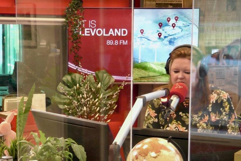 In de uitzending bij Omroep Flevoland