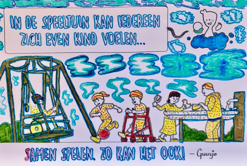 Kleurplaat van winnaar Georgtina