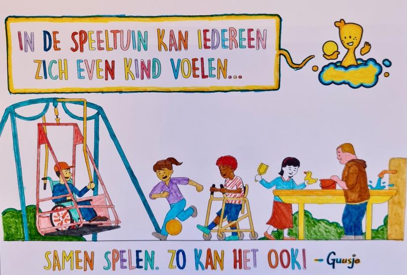 De kleurplaat van Nagepha.